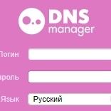 DNSmanager [Вопросы]